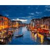 Ночная Венеция Раскраска картина по номерам акриловыми красками на холсте