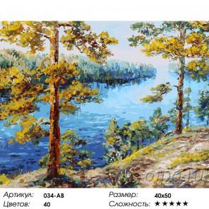 Количество цветов и сложность Валаам Раскраска ( картина ) по номерам акриловыми красками на холсте Белоснежка