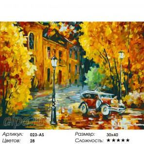 Количество  цветов и сложность Город просыпается Раскраска ( картина ) по номерам акриловыми красками на холсте Белоснежка