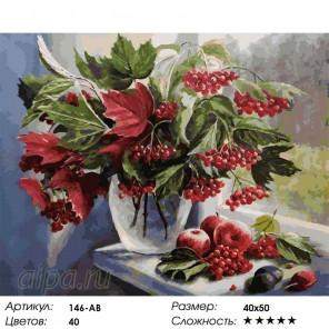 Количество цветов и сложность Август Раскраска ( картина ) по номерам акриловыми красками на холсте Белоснежка