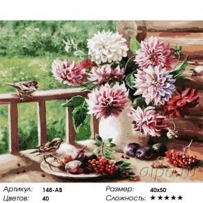 Уходящее лето Раскраска ( картина ) по номерам акриловыми красками на холсте Белоснежка