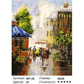 Мотивы старого города Раскраска ( картина ) по номерам акриловыми красками на холсте Белоснежка