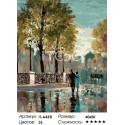 После дождя ( художник Брент Хейтон ) Раскраска ( картина ) по номерам на холсте Iteso