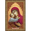 Владимирская икона Божией Матери Алмазная мозаика вышивка Painting Diamond