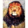 Царь зверей Раскраска ( картина ) по номерам акриловыми красками на холсте Белоснежка