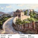 Количество цветов и сложность Великая Китайская стена Раскраска картина по номерам акриловыми красками на холсте Белоснежка
