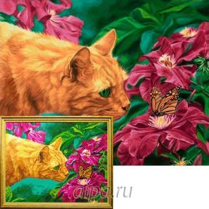 Аромат цветов Алмазная вышивка мозаика Гранни