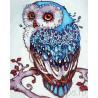 Совушка счастья Раскраска картина по номерам акриловыми красками на холсте
