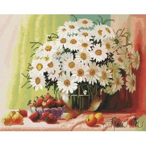 Садовые ромашки Алмазная мозаика вышивка на подрамнике Painting Diamond