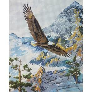 Полет орла Алмазная мозаика вышивка на подрамнике Painting Diamond