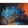 Васильки Раскраска ( картина ) по номерам акриловыми красками на холсте Белоснежка