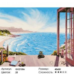 Количество цветов и сложность В отпуск Раскраска картина по номерам акриловыми красками на холсте