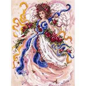 Состав набора Фея вьюги Набор для вышивания крестом и бисером Матренин Посад