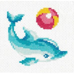 Дельфинчик Набор для вышивания Чудесная игла