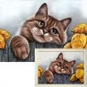Деревенский кот Алмазная вышивка (мозаика) Гранни