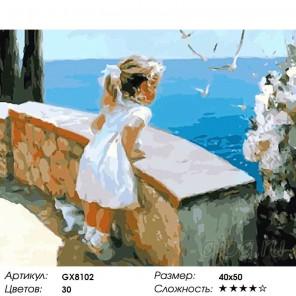 Количество цветов и сложность Очарование лета Раскраска картина по номерам акриловыми красками на холсте