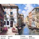 Венецианские цвета Раскраска картина по номерам на холсте