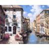 Венецианские цвета Раскраска картина по номерам акриловыми красками на холсте