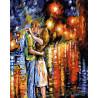 Прощальный поцелуй Раскраска картина по номерам акриловыми красками на холсте