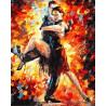 Радость танго Раскраска картина по номерам акриловыми красками на холсте