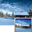 Долина снега Алмазная вышивка мозаика Гранни