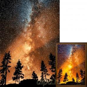 Звездное небо Алмазная вышивка мозаика Гранни