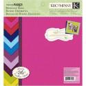 Яркий 21x21 Набор бумаги для скрапбукинга, кардмейкинга K&Company