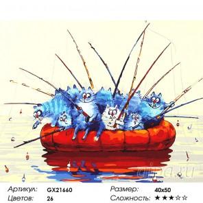 Вместе веселее Раскраска картина по номерам акриловыми красками на холсте