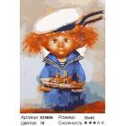 Количество цветов и сложность Домовёнок-морячок Раскраска картина по номерам акриловыми красками на холсте