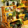 Цветочная оранжерея Набор для создания миниатюры румбокс