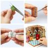 Сборка Книжный магазинчик Набор для создания миниатюры румбокс