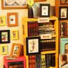 Фрагмент Книжный магазинчик Набор для создания миниатюры румбокс
