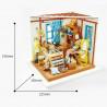 Размеры Кукольное ателье Набор для создания миниатюры румбокс