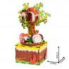Домик на дереве с музыкальными эффектами 3D Пазлы Деревянные