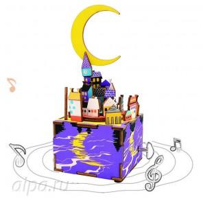 Сон в летнюю ночь  с музыкальными эффектами 3D Пазлы Деревянные