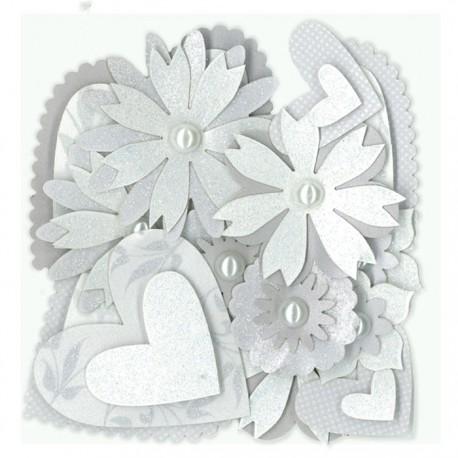 Свадебные украшения Чипборд для скрапбукинга, кардмейкинга  K&Company