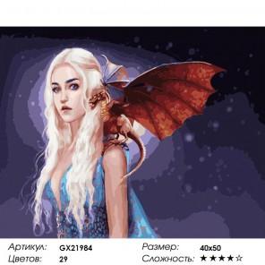Волшебная ночь Раскраска картина по номерам акриловыми красками на холсте