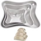 Подушка Форма для выпечки металлическая Набор 3шт. Wilton ( Вилтон )