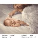 Количество цветов и сложность Под защитой Ангела Раскраска картина по номерам акриловыми красками на холсте