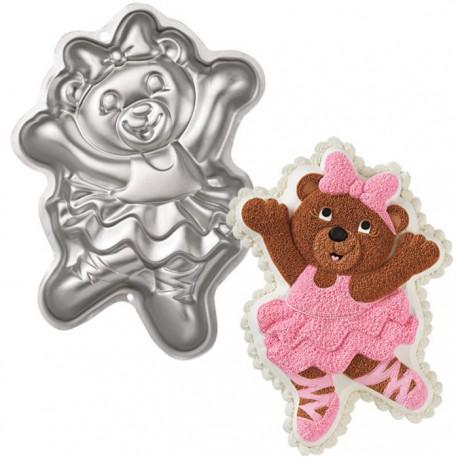 Медведица-балерина Форма для выпечки металлическая Wilton ( Вилтон )