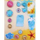 Мое море Набор декоративных брадсов Арт Узор