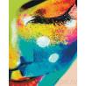 Разноцветное смущение Раскраска картина по номерам акриловыми красками на холсте