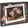 Внешний вид коробки Букет цветов с вишней Раскраска картина по номерам акриловыми красками Schipper (Германия)