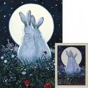 Лунная встреча Алмазная вышивка мозаика Гранни