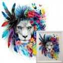 Цветные видения Алмазная вышивка мозаика Гранни