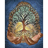 Раскладка Древо жизни Алмазная вышивка мозаика Гранни