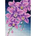 Орхидеи Алмазная мозаика на магнитной основе