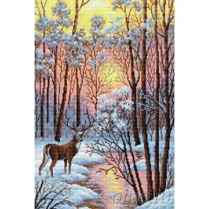 В лесу Алмазная вышивка мозаика
