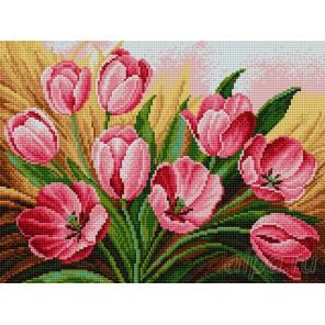 Тюльпаны Алмазная вышивка мозаика