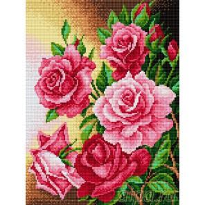 Розы Алмазная вышивка мозаика